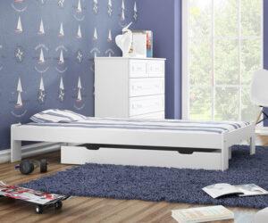 Dětská postel levně a přitom kvalitní? Ano! Můžete si vybrat ze 4 typů